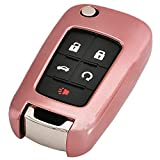 Pink TPU Key Fob Cover Case Remote Holder Skin
