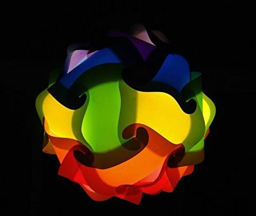 Rainbow Mix Large Infinity Lights, Puzzle Lights, IQ Lights, LuvaLamps, Jigsaw Lamps, ZE Lights 30 Piece Pack USA