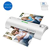"""Thermal Laminator for A4/A6, 9"""" Laminating Machine with Two Roller System, Jam-Release Switch"""