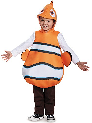 Nemo Classic Finding Dory Disney/Pixar Costume, One Size Child -