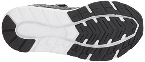 New Balance Boys' 519v1 Hook and Loop Running Shoe Black/White 2 M US Infant by New Balance (Image #3)
