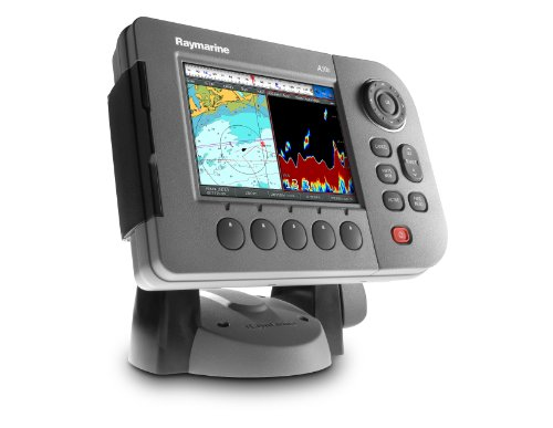 Raymarine A50D 5-Inch Waterproof Marine GPS and Chartplotter (With U.S. Coastal Charts)
