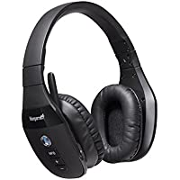 VXi BlueParrott S450-XT Bluetooth/NFC Stereo Mic Headphones Bundle - Bonus Wall Charger | Compatible for Streaming Music, MAC, Windows, Android Phone, Tablet, iOS iPhone, iPad, Blackberry | 203582-B