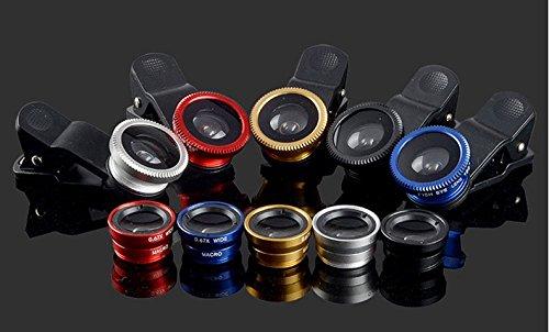 Universal Mobile Phone lens 3 in 1 Phone Lens (GOlden) - 6