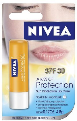 Nivea Lip Care A Kiss Of Protection, Sun Protection Lipstick Care SPF 30 - 5 ml 11210