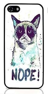 linJUN FENGGrumpy Cat Hard Case for Apple iPhone 5/5S ( Sugar Skull )