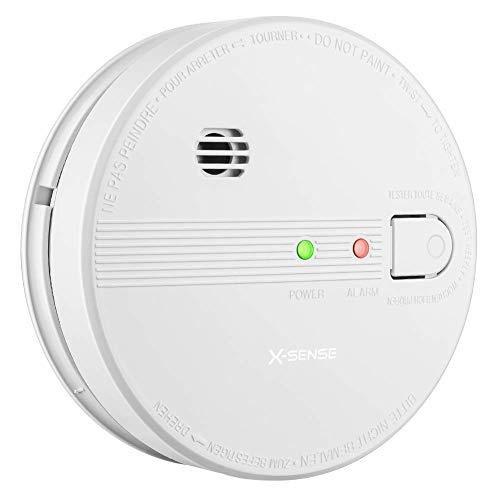 X-Sense SD21 10-Year Battery Interconnect Smoke Detector Fire Alarm with Photoelectric Sensor