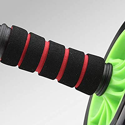Oyov2L Home Gym Exercise Fitness Abdominal Muscle Training Bearing Mute Roller Wheel Durable Fitness Equipment: Sports & Outdoors