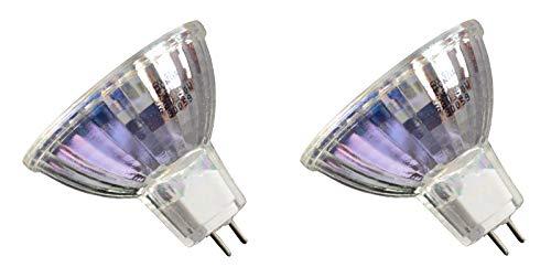 2pcs RM-128 ENX 82V 360W Donar Replacement Bulb for 13824 319277 - GE 41705 – Osram 54984 - Philips 31927-7 – Kodak Chevron 265 275 285 – Coemar Bessler VG-514 PET 100 – MBT Followspot 1 Lamp ()