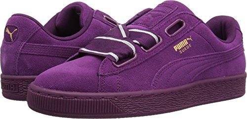 5774086eefb Galleon - PUMA Women s Suede Heart Satin Wn Sneaker