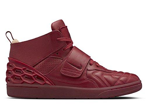 Nike - Zapatillas de Piel para hombre RED/VACHETTA TAN/TEAM RED