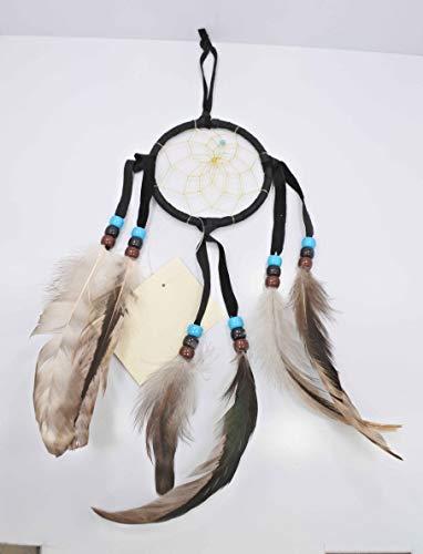 All Tribe Silver Native Amerian Dream Catcher (Black)
