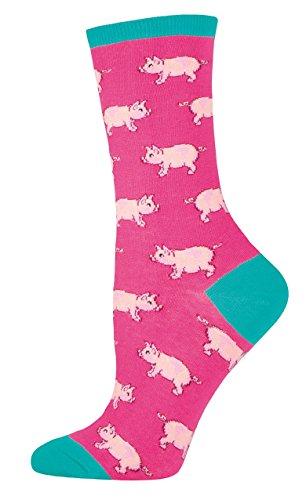 Socksmith This Little Piggy Women's Novelty Sock