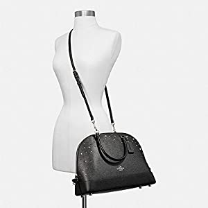 Coach Signature Sierra Satchel Crossbody Bag Purse Handbag