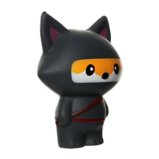 Ninja Fox & Ninja Panda | Slow Rising Jumbo Squishies 4