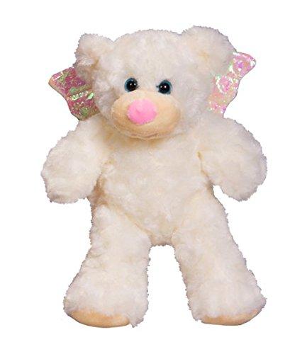 Baby ANGEL Bear - Recordable Voice or ultrasound heartbeat Stuffed 8' teddy bear