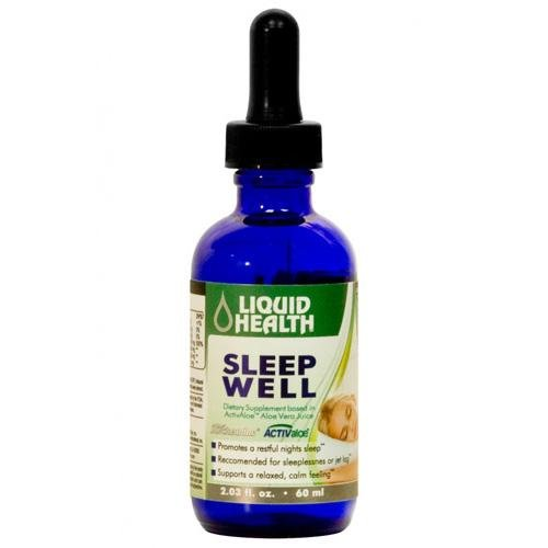 2 Packs of Liquid Health Products Sleep Well Gf - 59 Ml