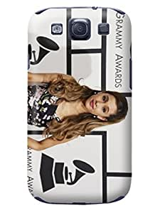 Custom texture desgin tpu skin cover case with pictures for Samsung Galaxy s3(Ariana) Fashion E-Mall