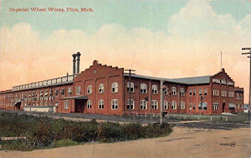 Postcard Imperial Wheel Works in Flint, Michigan~119189