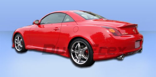 2002-2010 Lexus SC Series SC430 Duraflex VIP Rear Add On Bumper Extensions - 2 Piece