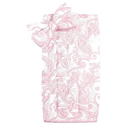 (Men's Tapestry Cummerbund & Bow Tie Set - Many Colors (Pink))