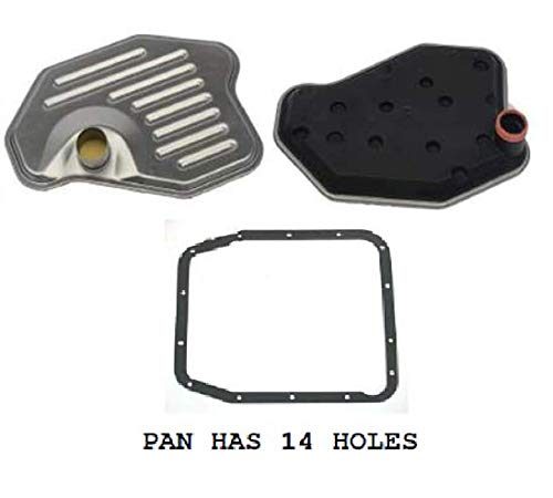 New Auto Transmission Oil Strainer + Filter + Gasket Kit for Ford,Lincoln,Mercury - Gasket Strainer Oil