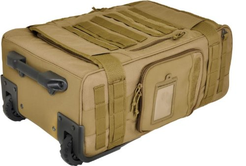 HAZARD 4 Air Support(Tm) Rugged Rolling Carry-On - Coyote