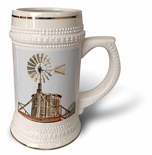 California T-Shirts Agriculture Old Wooden Water Tower with Windmill for Pumping 3dRose Danita Delimont Cayucos