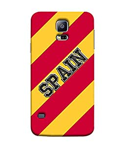 ColorKing Football Spain 03 Multi Color shell case cover for Samsung S5
