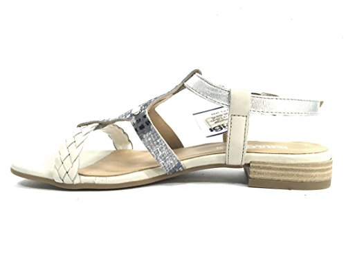 in Italy 7832 amp;co Igi made Scarpa donna sandalo PERLA pelle 4v84aqR