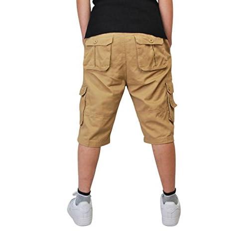 8caf50cf877 durable modeling Cukke Mens Cargo Shorts Multi Pockets Short Summer Pants