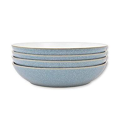 Denby Elements Pasta Bowls in Blue (Set of 4)