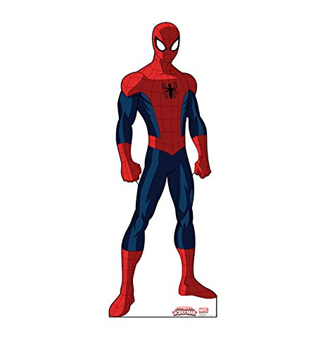 Advanced Graphics Spider-Man Life Size Cardboard Cutout Standup - Ultimate Spider-Man]()