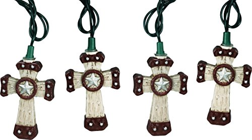 Rivers Edge Western Cross Decorative Party Lights