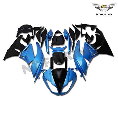 New Blue Black Fairing Fit for Kawasaki Ninja 2009-2012 ZX6R 636 ZX-6R Injection Mold ABS Plastics Aftermarket Bodywork Bodyframe 2010 2011 09 10 11 12