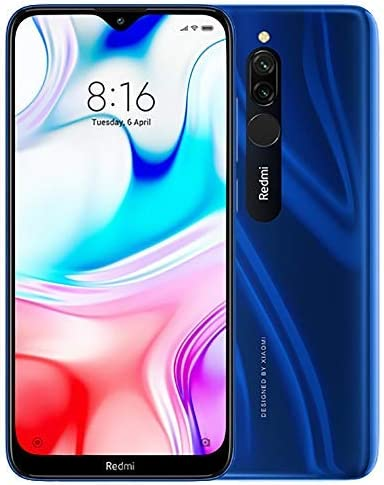 Xiaomi Redmi 8 3 GB RAM, 32 GB ROM, Azul zafiro: Amazon.es: Electrónica