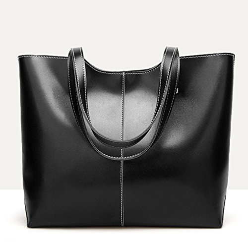 gestire Republe Pu Tracolla Nero Borsa Donne Top Femminili Retro Bag Streamline Pouch In Ragazze Tote Pelle Messenger Borse RwvIrR