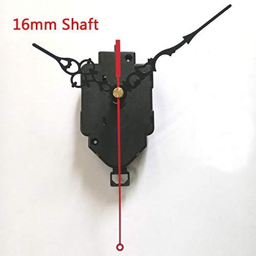 Maslin 16mm Shaft Swing Movement Quartz Clock Movement for Clock Mechanism Repair DIY Clock Parts Accessories