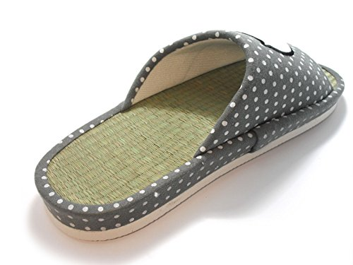 Wide House KNP26032ST Width with Arch Print Gray Slippers Bamboo Pig Slippers CCZrPqF
