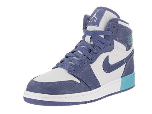 timeless design 27b7b 12183 Jordan Nike Kids Air 1 Retro High GG Blue Moon/Blue Moon Basketball Shoe 7  Kids US