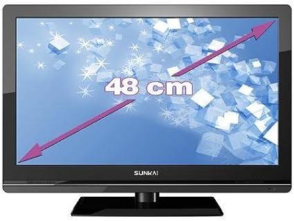 Sunkai V2A18-ILD- Televisión, Pantalla 19 pulgadas: Amazon.es: Electrónica