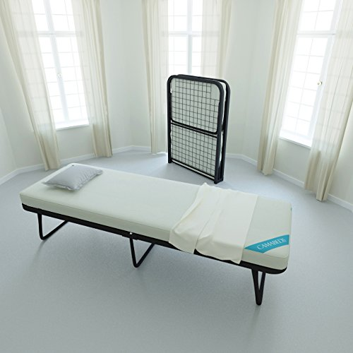 Camabeds Needus Single Small Size Lightweight Folding Bed with 3.5  Mattress