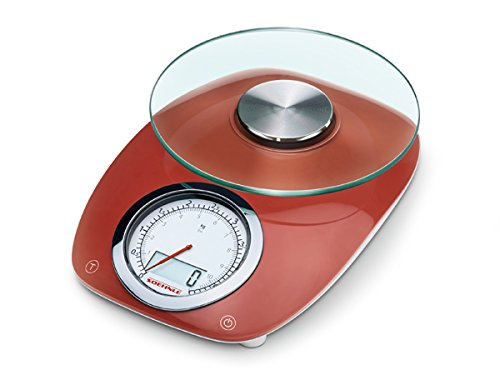 Soehnle Vintage Style Digital Kitchen Scale, Gray