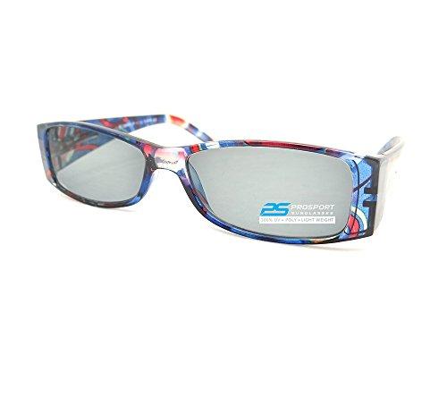 Trendy Squre Framed Reading Sunglasses for - Framed Blue Sunglasses