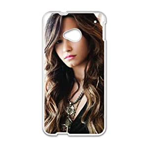 HTC One M7 Cell Phone Case White Demi Lovato LUM Design Your Own Phone Case Uk