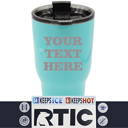 Engraved Custom RTIC Cup Tumbler - Personalized 30