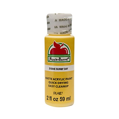 Apple Barrel Matte Finish Sunny Day Acrylic Craft Paint, 2 Fl. Oz.