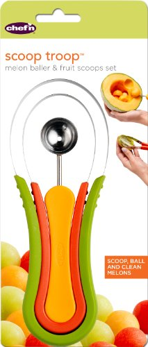 Chef'n Scoop Troop Melon Baller and Fruit Scoop Set