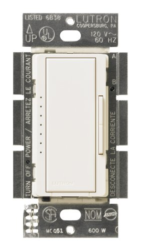 (Lutron MSC-600M-BI Maestro 600-Watt Multi-location Dimmer Biscuit)