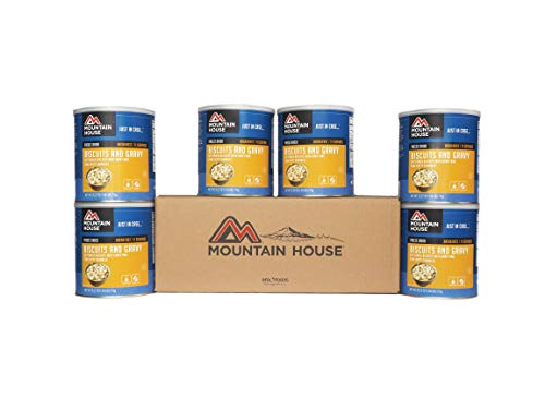 Mountain House Biscuits & Gravy #10 Can - 6 Pack ()